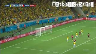 David luiz goal vs Colombia!!