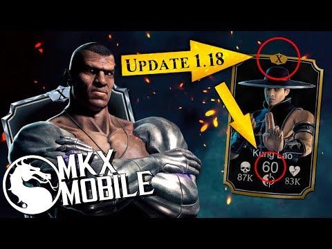 ОБНОВЛЕНИЕ 1.18 в Mortal Kombat X Mobile! 10 СЛИЯНИЕ, KLASSIC JAX и Shaolin Fist Kung Lao