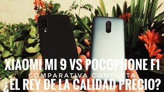 Xiaomi Mi 9 vs PocoPhone F1 - ¿Cual es el Rey de la Calidad Precio?