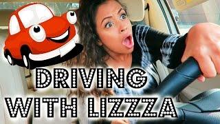 ROAD RAGE!?! DRIVING WITH LIZZZA | Lizzza