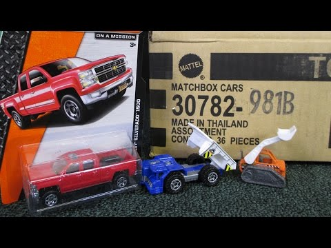 2015 B Matchbox Factory Sealed Case Unboxing By RaceGrooves