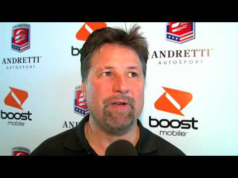 Michael Andretti talks about his team Video