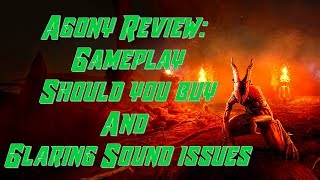 Walk through Open World Agony Xbox One X 2018   Review Gameplay worth buying Sound issues problems
