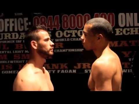CHRIS EUBANK JNR PROVES A POINT & WEIGHS IN 2 lbs UNDER THE MIDDLEWEIGHT LIMIT / EUBANK v WILDENHOF