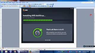 install and activate AVG 2016 serial key full version 1 year