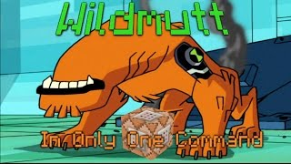 WILDMUTT in Only One Command | Ben 10 Alien in Minecraft