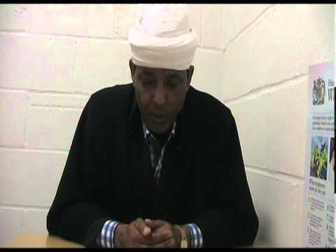 merigieta hadis, head of sebket wongel in debre tsion london,view towards the church issue