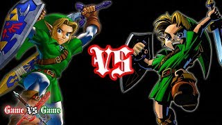 Ocarina of Time VS Majora's Mask (Comparison)