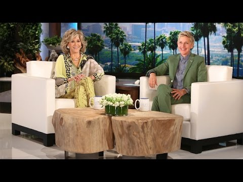Jane Fonda on Kissing on Camera