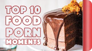 Top 10 Food Porn Moments Of 2017 - Compilation