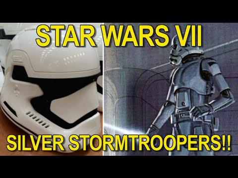 Chrome Stormtroopers in Star Wars Episode 7