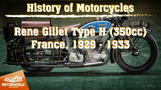 René Gillet Type H 350сс | 1932, France. Review & test-drive.