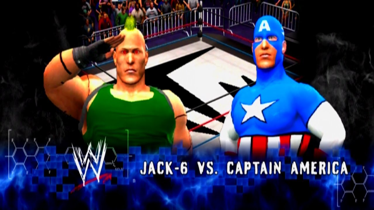 Jack-6 Vs Captain America [January 26th, 2012]