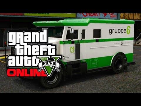 GTA 5 Online: EASY Money Truck Spawn Trick - Quick & Fast Money! (GTA V)