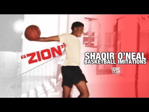 Shaqir O'Neal Imitates Kobe, Zion, LaMelo, LeBron, Shareef, Bol Bol & More