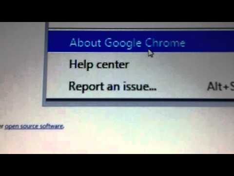 How to check the version of Google Chrome (for Windows)