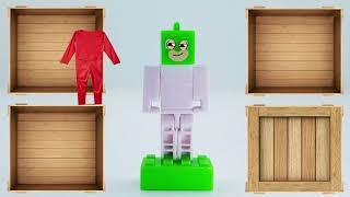 LEGO Gekko PJ Masks Kids Wrong Costume Toys for Kids