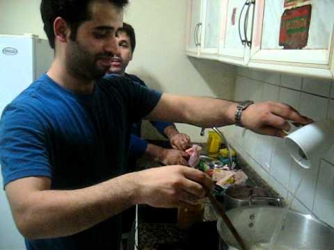 Kashmiri making Yakhni for Eid in Dubai