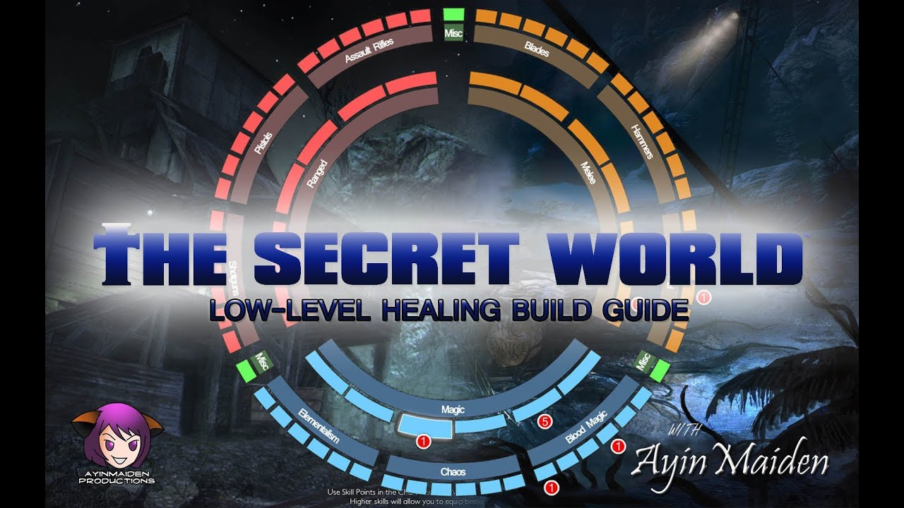 The secret world healing abilities