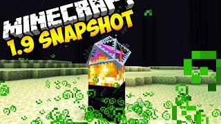 END CRYSTALS, LUCK EFFECT, & MORE! -- Minecraft 1.9 Snapshot 15w44b