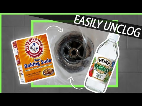 how to easily unclog a drain without harsh chemicals