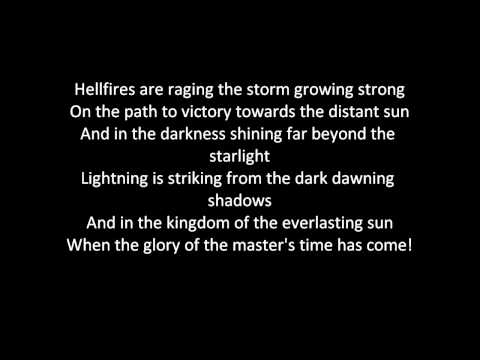 Dragonforce - Fury Of The Storm (lyrics) video