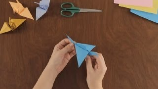 How To Make An Origami Flying Crane : Simple & Fun Origami
