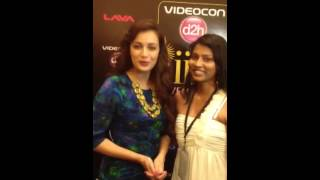 Diya Mirza for Adesiflava during IIFA Awards in Macau