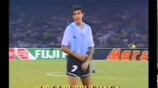Italy 1990 - Semi Finals - Argentina 1 - 1 Italy (4 - 3 pens) MP3