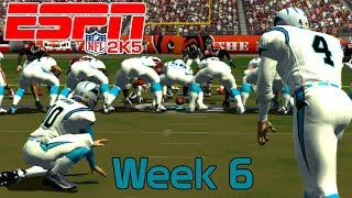 ESPN NFL 2K5 - Cleveland Browns Vs Carolina Panthers - Week 6