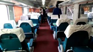 Ahmedabad Mumbai Shatabdi Executive Class Interior