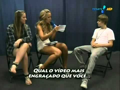 Justin Bieber - Justin Bieber Really Funny Interview haha