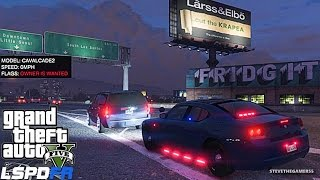 GTA 5 LSPDFR 0.3 - EPiSODE 6 - LET'S BE COPS - HIGHWAY PATROL (GTA 5 PC POLICE MODS)