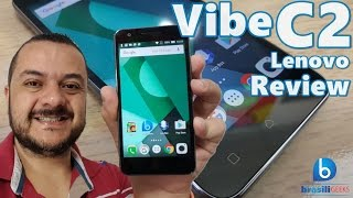 Vibe C2 - O Smartphone mais barato da Lenovo! Review (Análise em Português)