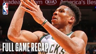 BUCKS vs HEAT | Giannis Antetokounmpo Goes For 33 & 16 In Miami | March 15, 2019