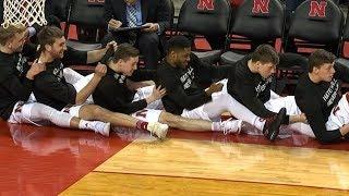 Best highlights from the Nebraska basketball team's bench | ESPN