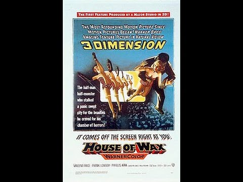 Halloween Marathon 14: House of Wax (1953) Review