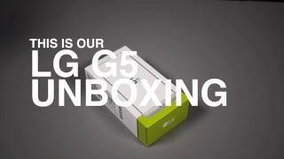 LG G5 Unboxing!