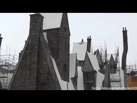 Wizarding World of Harry Potter Construction Update #6 2015 Universal Studios Hollywood HD