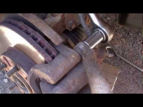 How to lubricate caliper slider pins
