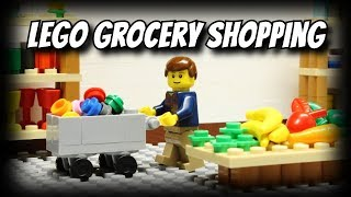 Lego Grocery Shopping