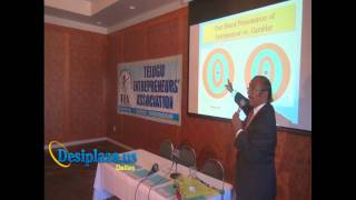 Part 3 : Billionaire Dr. M S Reddy giving Speech @ TEA
