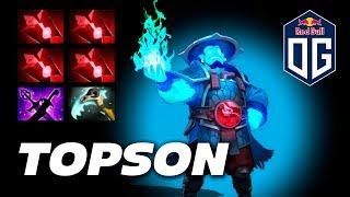 Topson Storm Spirit   EPIC MANA REGEN   Dota 2 Pro Gameplay