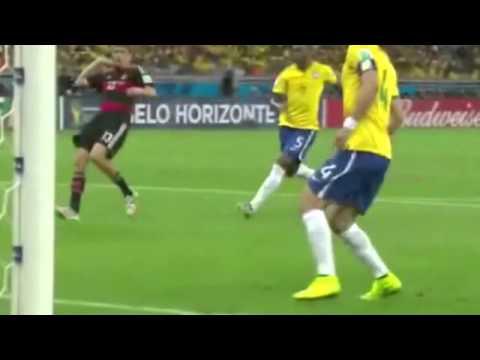 Германия-Бразилия - 7:1. Все голы! ЧМ 2014