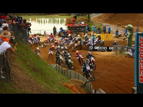 2018 GEICO Motorcycle Budds Creek National race highlights