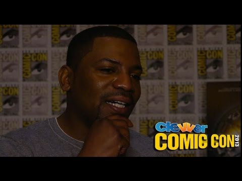 Mekhi Phifer Talks Divergent Wardrobe & Max - 2013 Comic-Con