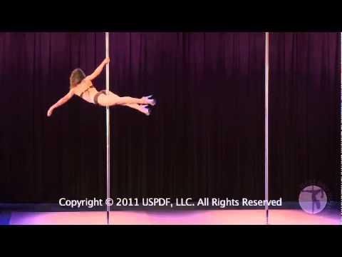 US Pole Dance Championships 2011 - Sarah Jade