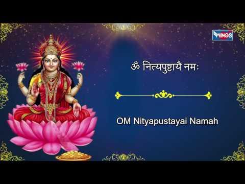 Sri Lakshmi  Ashtothram 108 - Shree Laxmi Ashtothram Shatanamavali -With Lyrics | Shailendra Bhartti