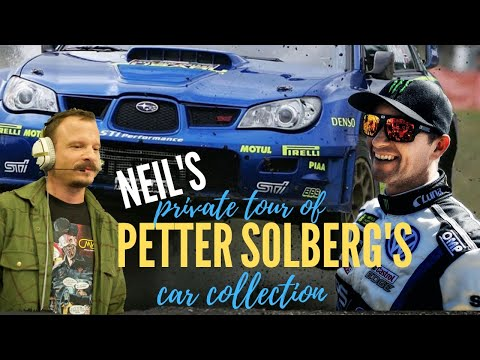 Private View of Petter Solberg's Car Collection Dec 2010