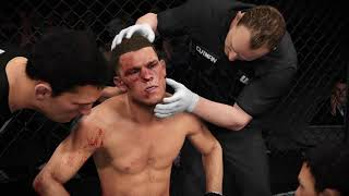 UFC 2: Welterweight Fight: Nate Diaz vs Connor McGregor